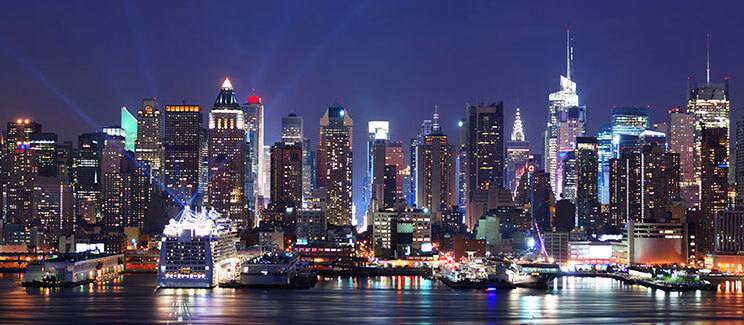NYC Skyline Night image